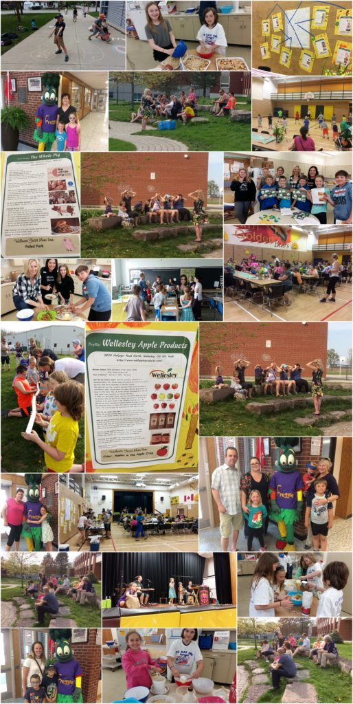 Seaforth PS Wellness Night collage
